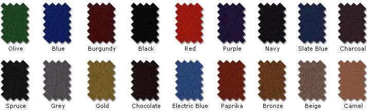 Cloth Colour Pallet